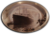 The Titanic Paperweight