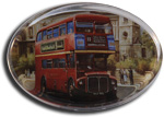 London bus at St Paul's Paperweight