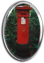 Victorian Post Box Paperweight