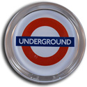 London Underground Small Paperweight